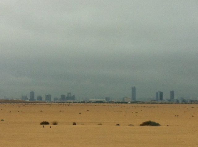 The next time the heavens open over Dubai, I'm having a duvet day too