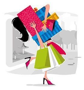 Shopping sans children is better than sliced bread