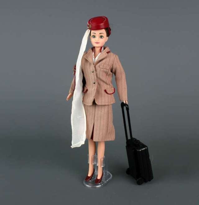 I don't have a DD, and I'm certainly not getting one of these for DH, but I thought readers with girls might be interested to see this 'iconic' doll. How about a 'Ken' pilot version next?