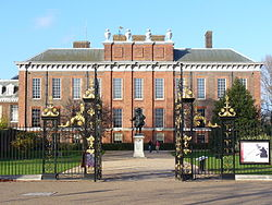 The 'apartment' at Kensington Palace