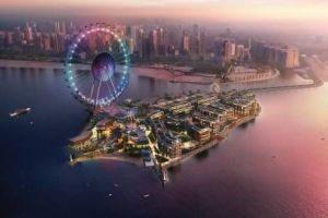 Modelled on the London Eye, do I need to tell you it'll be the biggest Ferris wheel in the world!