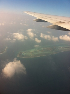 How tempting does that island look? Maldives, I'll be back!