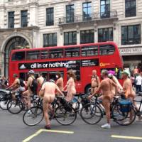 The Naked Bike Ride