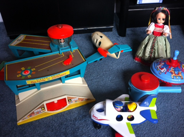 For baby-boomers, the name Fisher-Price is synonymous with childhood (remember the airport set? Complete with a  turning luggage carousel and suitcases)