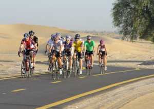 Cycle Safe organises rides on Friday mornings for beginners and advanced cyclists. There's also the popular Bab Al Shams coffee run on Saturday mornings