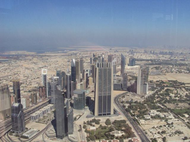 View from top of Burj