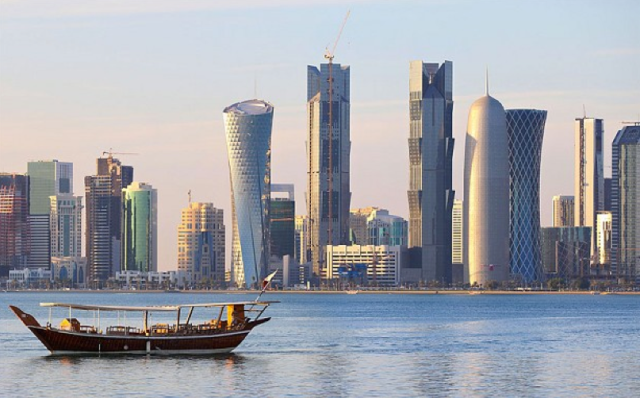 Qatar's economy used to be dependent on pearl fishing on the Arabian Gulf until the discovery it was on top of 15% of the world's proven gas reserves. Credit: The Telegraph