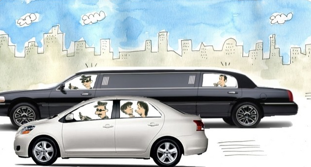 Drivers in Dubai come with all kinds of wheels: And I don't mean regular drivers. I mean the paid kind who ferry kids back and forth. Pic credit: The National
