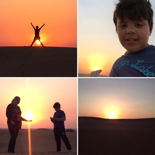 We hit the desert at the weekend, on a safari filled with falcons, camels, food, fun and dune bashing. The sun really was the star of the show though, with an unforgettable sunset.