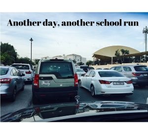 Another day, another school run