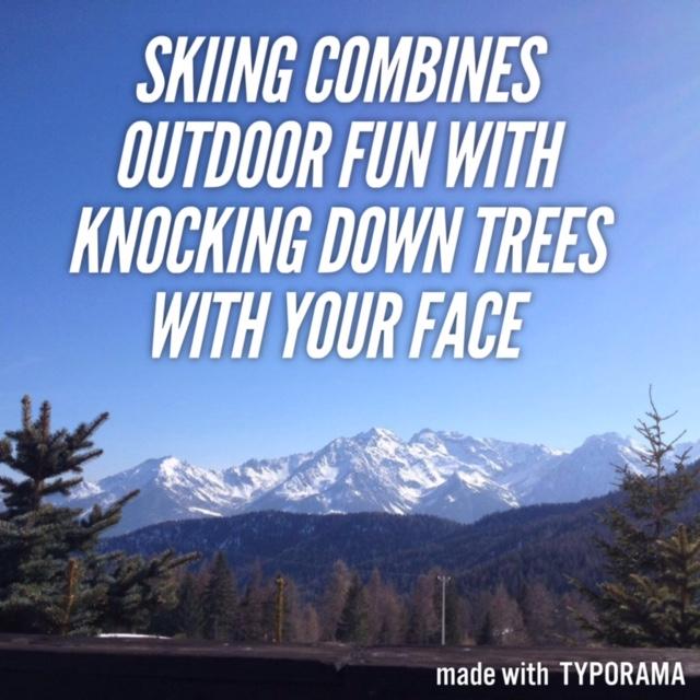Skiing in the Italian Alps2