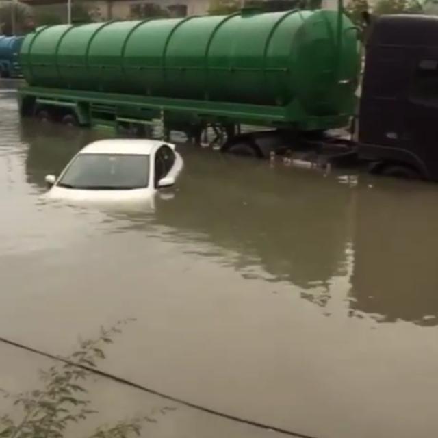 This Dubai driver didn't make it
