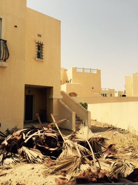 Layan Community - gardens destroyed